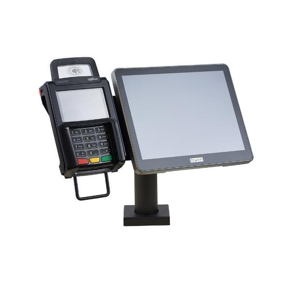 Halterung 4POS MxM-209 PureTOUCH, Ingenico Lane/5000,... - Mounting Solutions