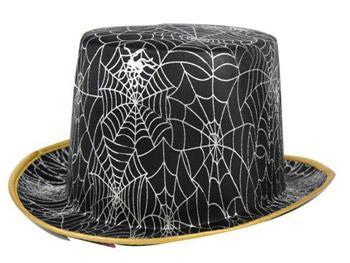 Chapeau haut de forme araignée - null