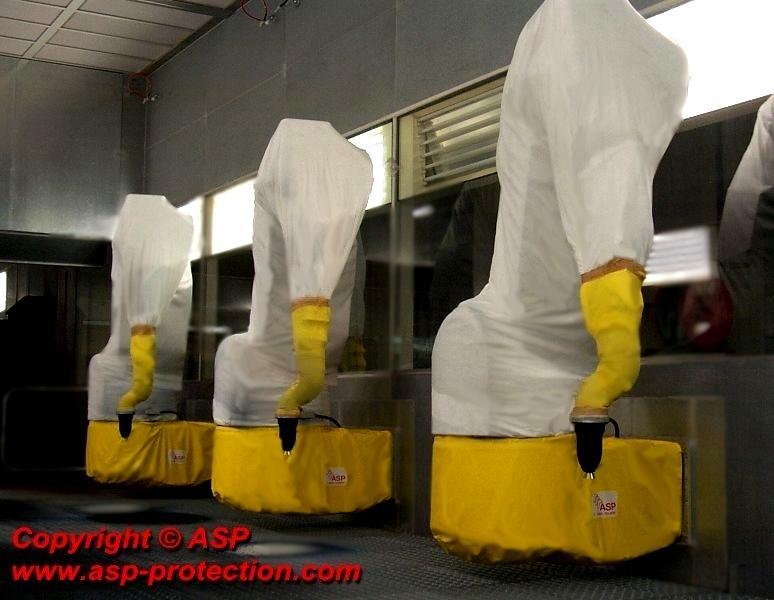Einweg Roboterschutzhüllen -