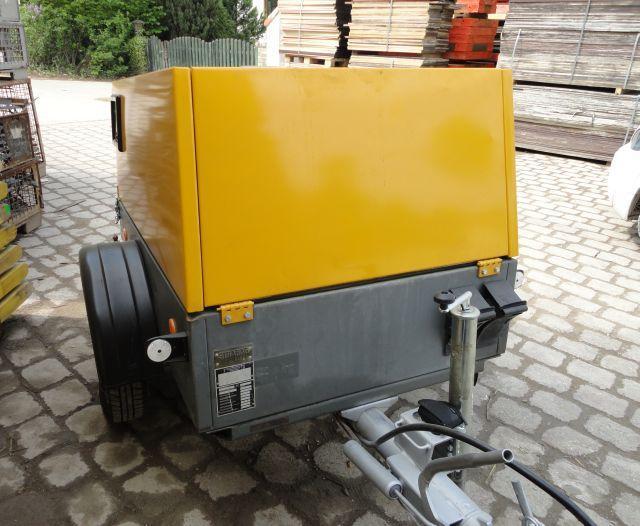 Baustellenbedarf - Übersicht - Kompressor 4m³