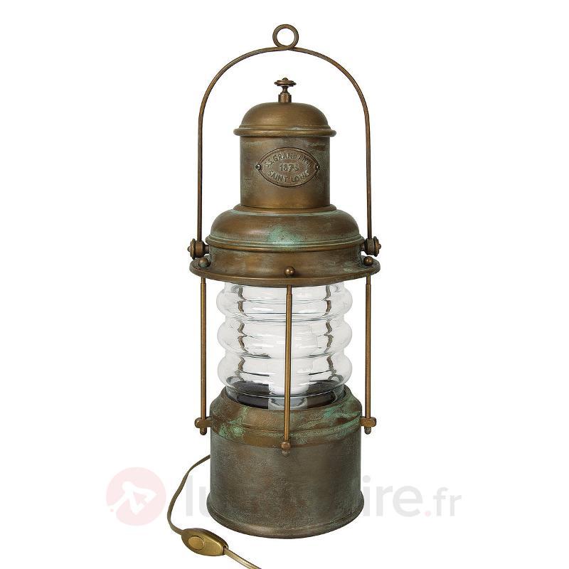 Lampe décorative de table Susa, lanterne - Lampes décoratives d'intérieur