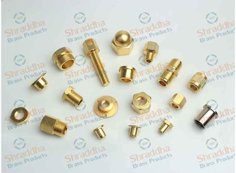 Brass Presicion Turned Milled Parts - Milling, turning, bush