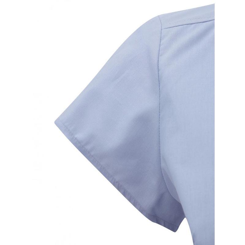 Chemise manches courtes Poplin - Femme