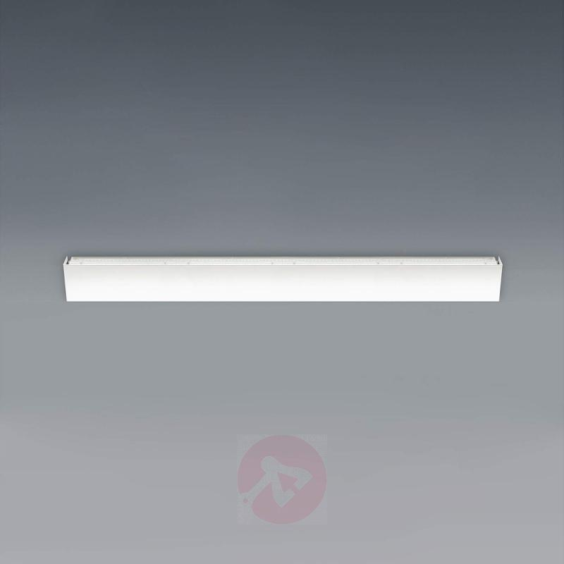 Wide LED wall lamp Simply LED, white, 120 cm - design-hotel-lighting