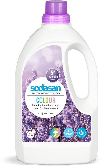Sodasan Laundry Liquid Colour Lavender - null