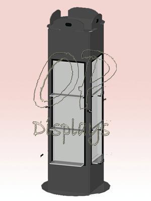 Cosmetic Vertical Racks - null