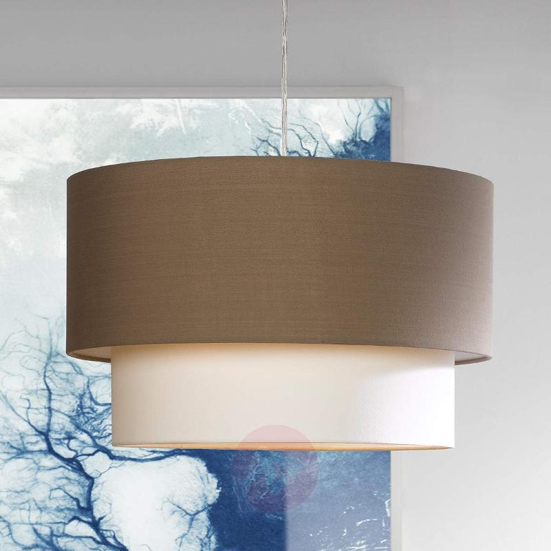 Imposing hanging light Doppio - Pendant Lighting