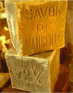 Véritable savon de Marseille - Savonnette