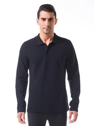 Long Sleeves Polo Neck