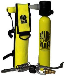 Suits Accessories - SPARE AIR DIVING AIR TANK