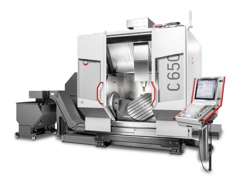 обрабатывающий центр C 650 - Cтанок C 650 разработан для самых различных фрезерных операций