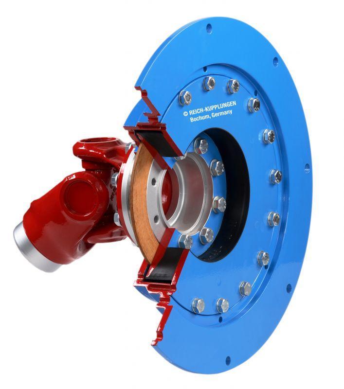 ARCUSAFLEX-VSK | AC-VSK - Высокоупругая предвключенная муфта для карданных валов