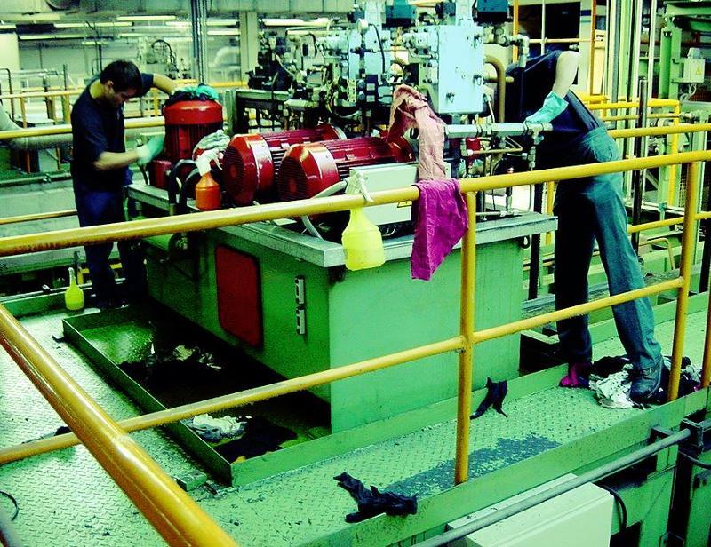 Nettoyage des volumes creux - Nettoyage d'installations industrielles