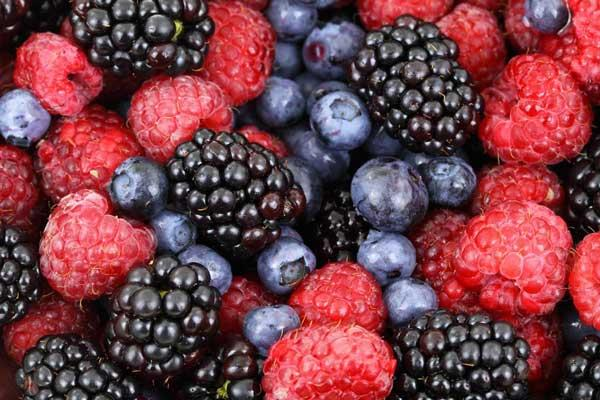 Arômes Naturels notes Fruits rouges -