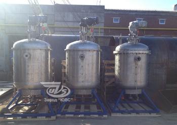Реакторы химические - Разработка, изготовление реакторов промышленных.
