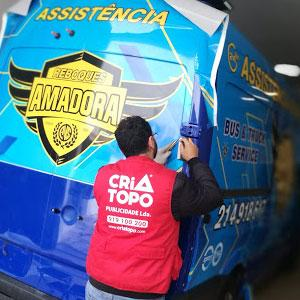 Decoração de viaturas, car wrap em Lisboa - Publicidade em viatura, carro, auto carro, barcos, avião