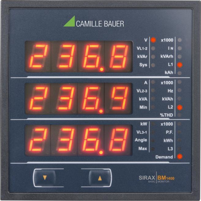 SIRAX BM1400 - Anzeiger mit LED-Display