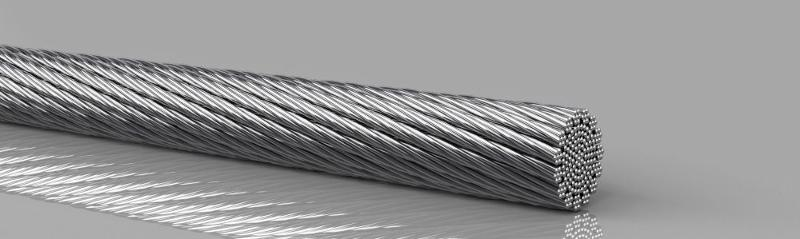 Copper products, without insulation - Copper round rope extremely flexible, tinned