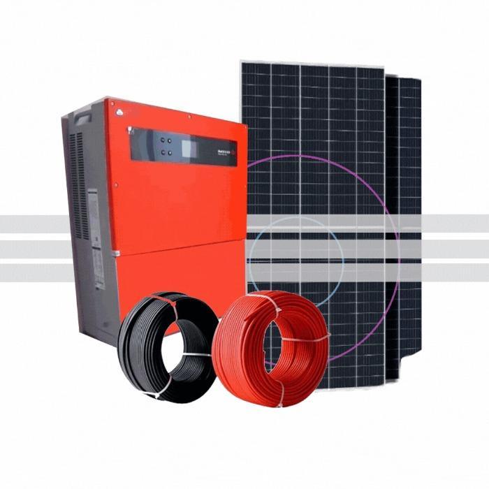 Оборудование для солнечных станций - Установка солнечных станций под ключ. Проект, доставка оборудования, монтаж.