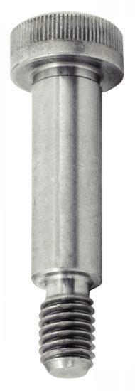 Vis épaulée - 6 pans creux, acier ou inox, tolérance f9