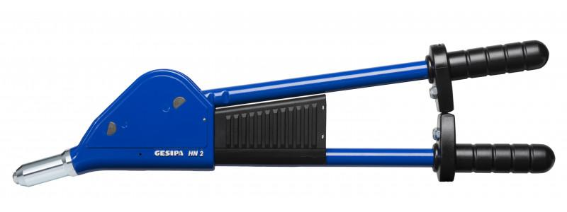 HN 2-BT (Lever riveting tool) - Lever riveting tool with fixed casing lever and ergonomic handle design