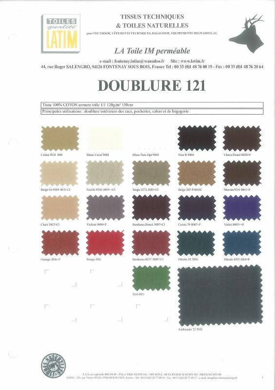 DOUBLURE 121 - Toiles naturelles