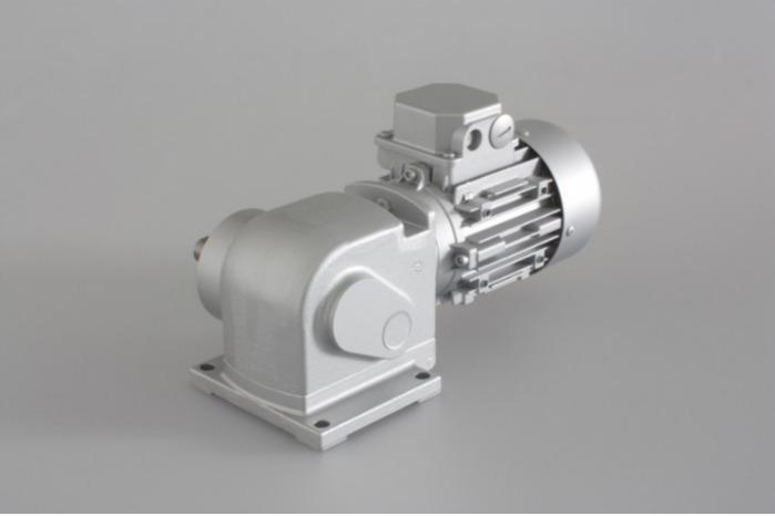 SN13 - Zweistufiger Getriebemotor mit Ausgangswelle