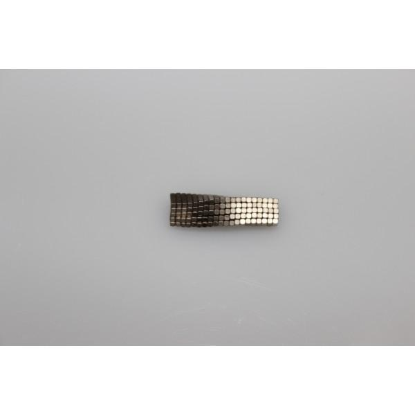 Block magnet, Neodymium, 10x4x2 mm, N45, Ni-Cu-Ni,... - null