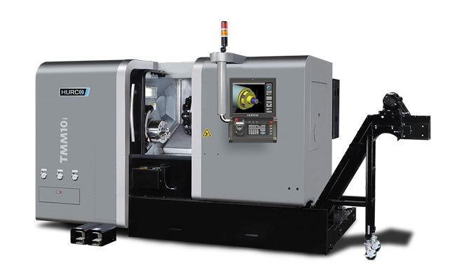 Drehmaschine - TMM 10i - Die ideale Maschine für die Dreh-Bearbeitung mittelgroßer Teile