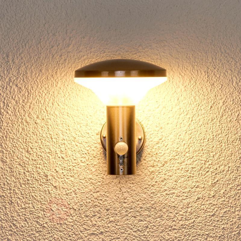 Jiyan - applique extérieure à détecteur, LED - Appliques d'extérieur avec détecteur