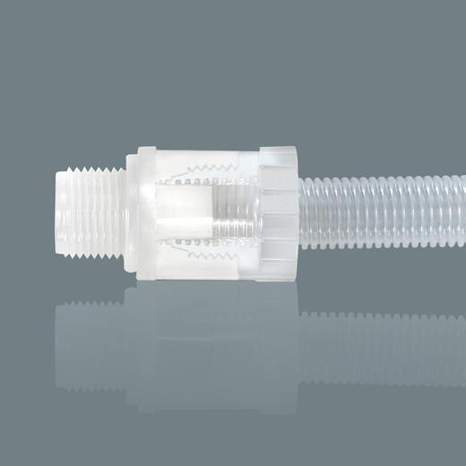 flexible tube connectors - Connectors for corrugated tube - ready to connect