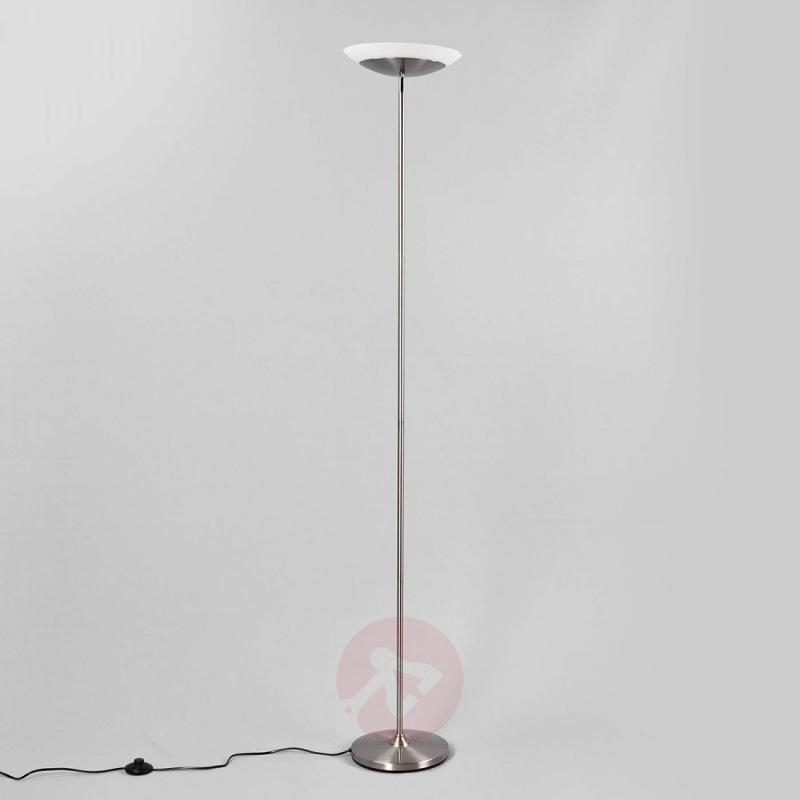 Discreet LED uplighter Olivia with foot switch - indoor-lighting