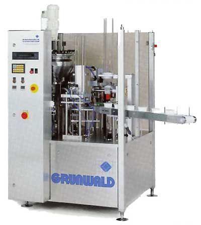 machines - afvul- en verpakkingsmachines - ROTARY high speed rotatieve verpakkingsmachine