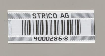 Gewebte Barcode-Etiketten - null