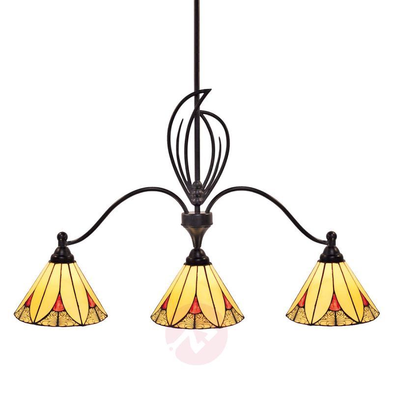 Charming pendant light Elisa, three-bulb - indoor-lighting