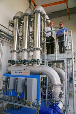 Membrane plants - Plants for water treatment, water circulationand wastewater treatment.