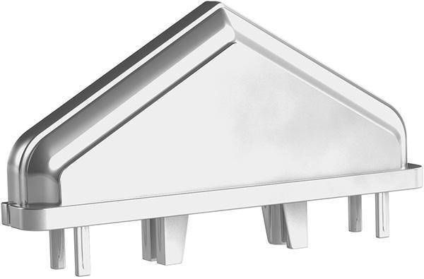 Aluminium Zaunkappen - null
