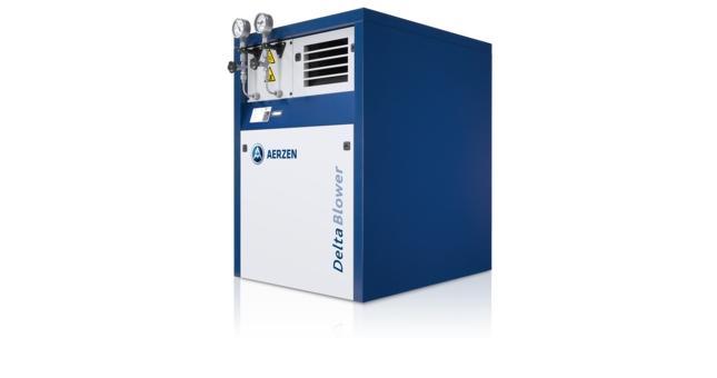 Surpresseurs à pistons rotatifs - Unité complète pour biogaz — Surpresseur Delta GM 3S.... 50L