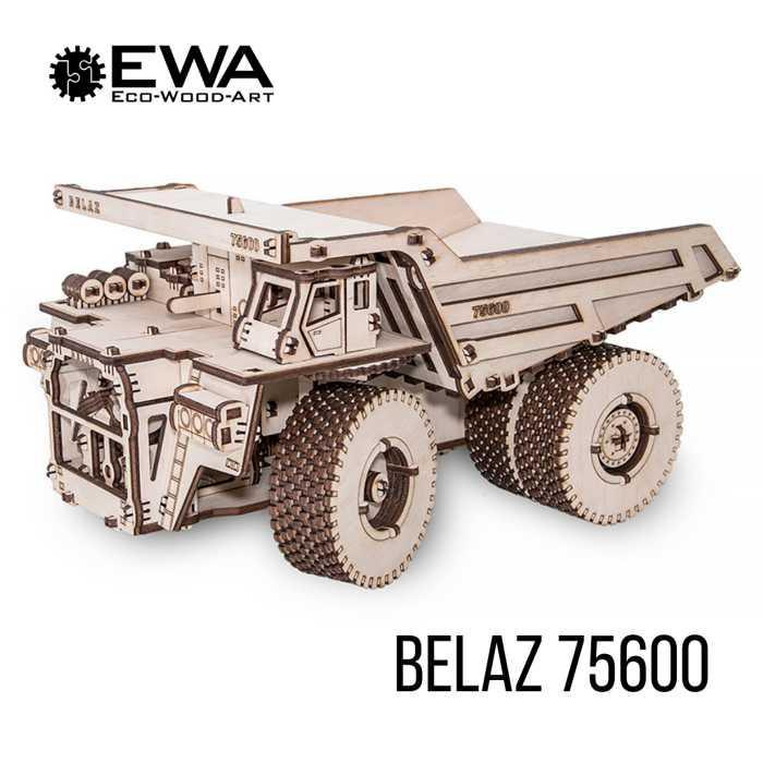 БелАЗ 75600 - Модель самосвала с резиномотором