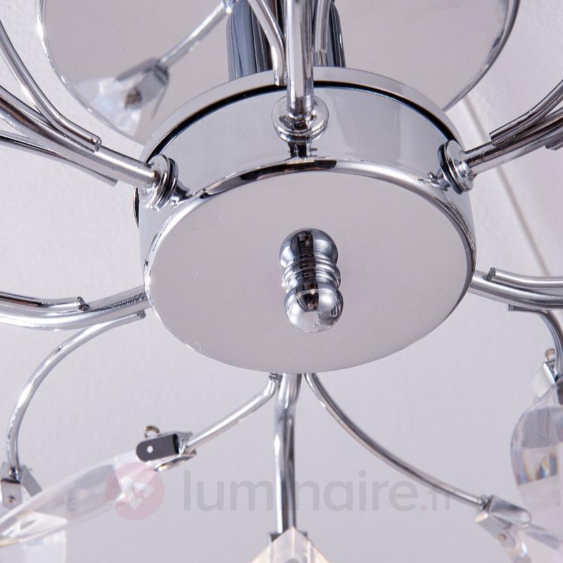 Plafonnier LED à motif floral Kibra - Plafonniers LED