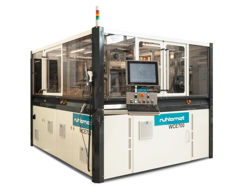 WCE700 - Semi-Automatic Production System - Very economical solution for antenna embedding and RFID inlay production