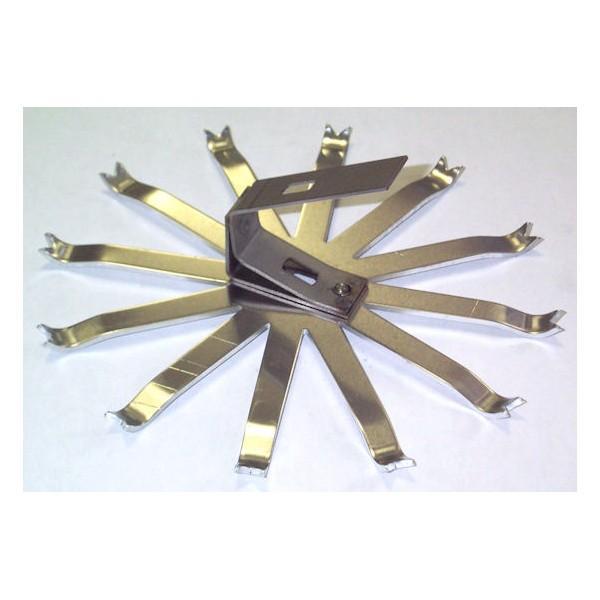 Aluminium umbrella - Self-blocking umbrella - Self-blocking umbrella - PA 12 self-blocking