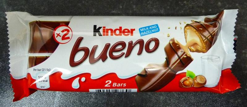 Kinder Bueno - Sweets and Confectionery Catalogue