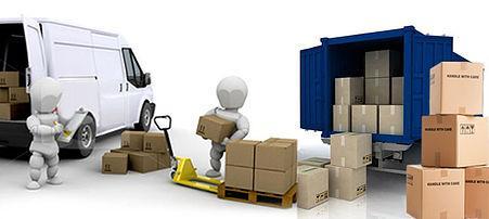serviço de mudanças / embalagem / apoio a serviço