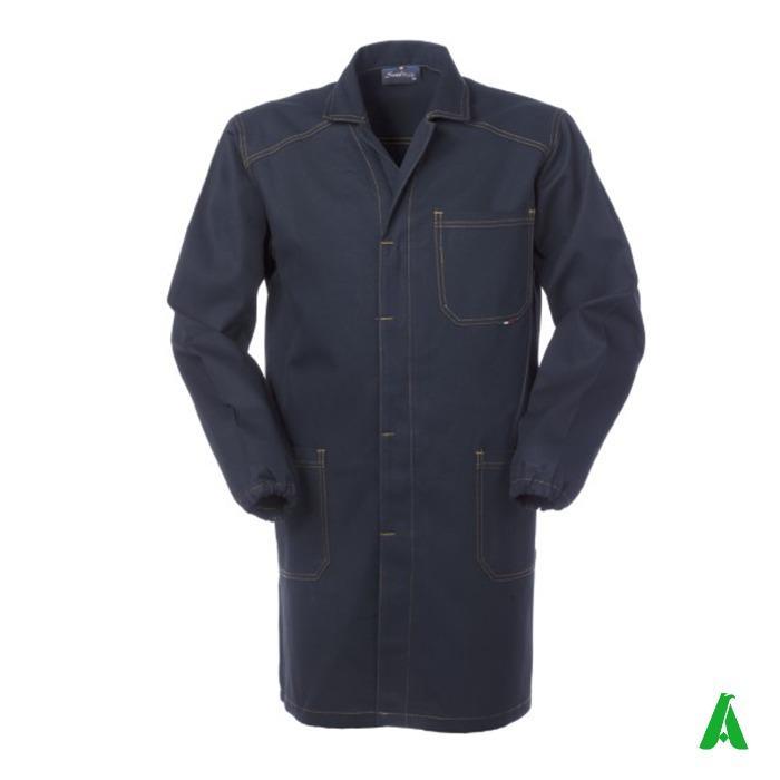 Camice invernale pesante per lavoro officina, industria - Camice in tessuto irrestringibile pesante personalizzato per operai e industria