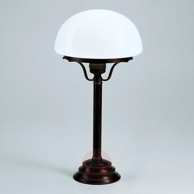 Frank table lamp with antique/rustic appearance - Window Sill Lights