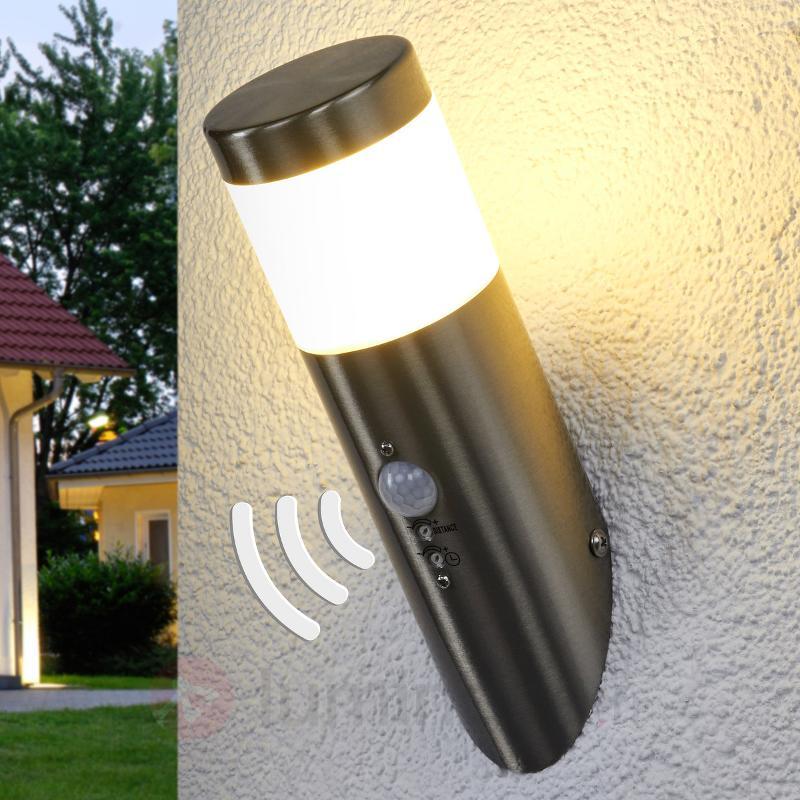 Applique extérieure avec détecteur Belina LED - Appliques d'extérieur avec détecteur