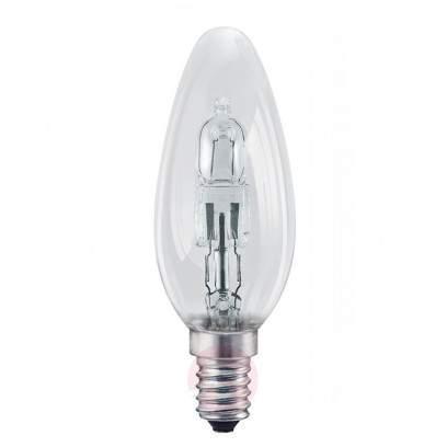 E14 42 W Halogen Droplet Bulb Clear - light-bulbs