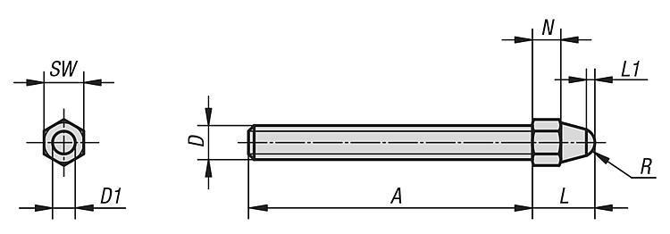 Butée sphérique - Butées