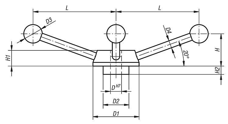Capstan Wheel - Operating parts